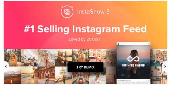 Instagram feed - instagram carousel for wordpress